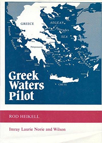 9780852880746: Greek Waters Pilot