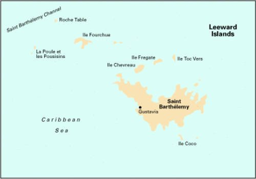 9780852886489: Imray Iolaire Chart A241: St.Barthelemy (Caribbean Charts)