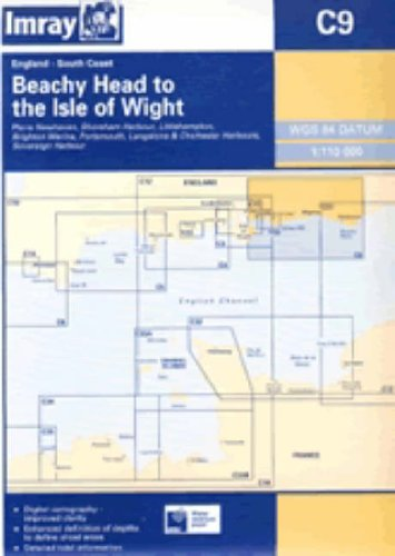 9780852888803: Beachy Head to Isle of Wight 2005 (Imray Homewaters Charts)