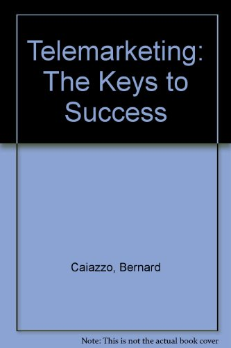 9780852908112: Telemarketing: The Keys to Success