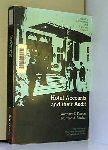 9780852912027: Hotel Accounts and Their Audit