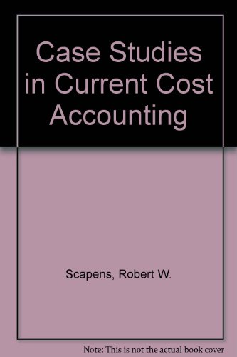 9780852913451: Case Studies in Current Cost Accounting