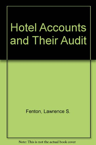 9780852919927: Hotel Accounts and Their Audit