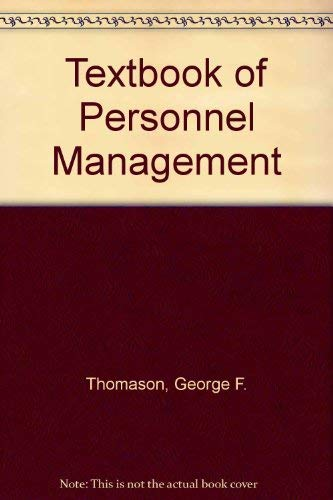 A Textbook of Personnel Management