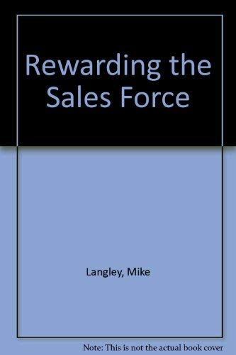 9780852923801: Rewarding the Sales Force