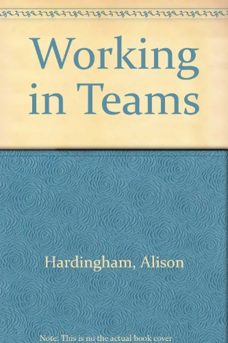 9780852925904: Working in Teams (Training Extras)