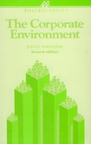 9780852926055: The Corporate Environment (Management studies series)