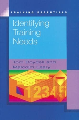 9780852926307: Identifying Training Needs (Training Essentials)