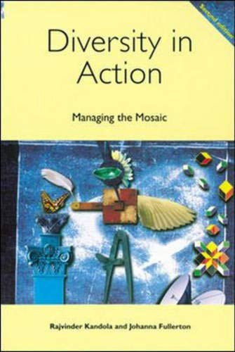 9780852927427: Diversity in Action: Managing the Mosaic (Developing Strategies)