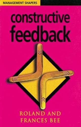 9780852927526: Constructive Feedback (Management Shapers)