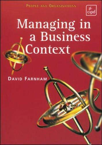 Managing in a Business Context (People & Organisations)