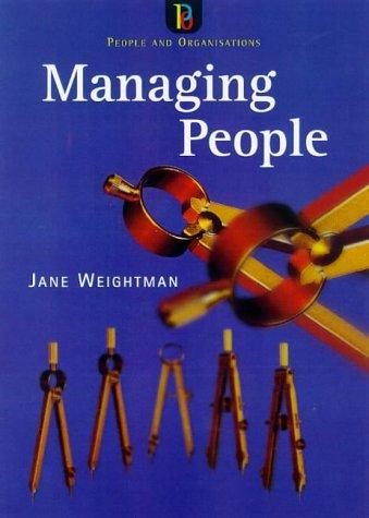 9780852927847: Managing People (People & Organisations)