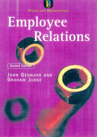 9780852928189: Employee Relations (People & Organisations)