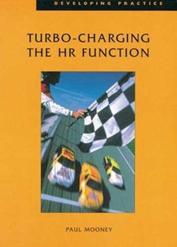 9780852928967: Turbo-charging the HR Function (Developing Practice)