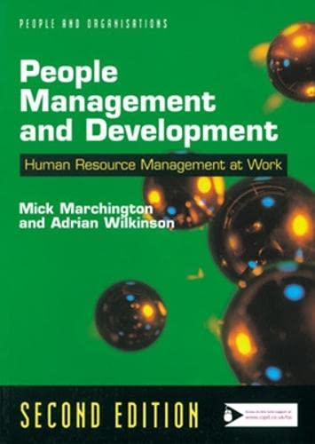 9780852929261: People Management and Development (People & organizations)
