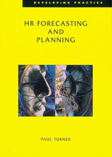 9780852929339: HR Forecasting and Planning (Developing Practice)