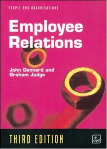 9780852929407: Employee Relations (People & organizations)