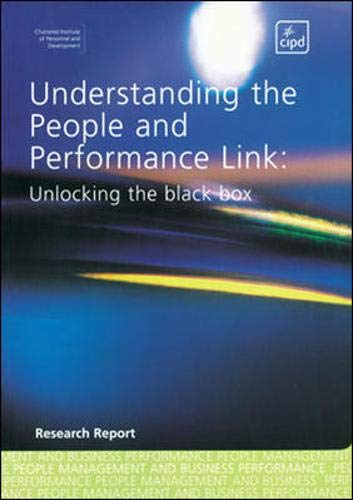 9780852929872: Understanding the People and Performance Link: Unlocking the Black Box