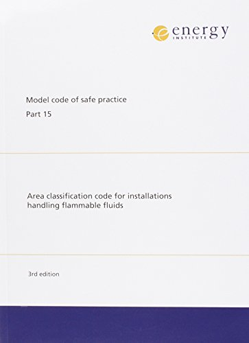 9780852934180: Area Classification Code for Installations Handling Flammable Fluids (Model Code of Safe Practice in the Petroleum Industry)