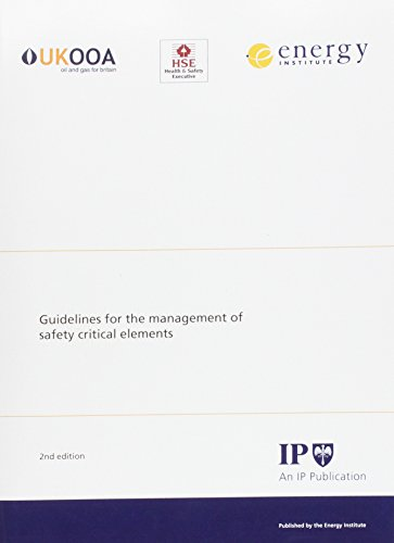 9780852934623: Guidelines for the Management of Safety Critical Elements