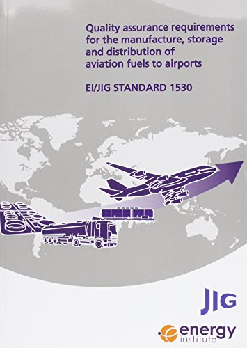 9780852936375: EI/JIG Standard 1530 Quality Assurance Requirements for the Manufacture, Storage and Distribution of Aviation Fuels to Airports