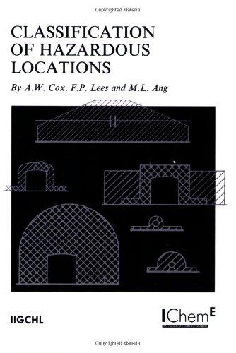 9780852952580: Classification of Hazardous Locations - IChemE