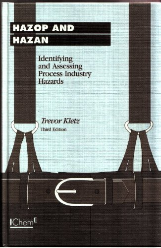 9780852952856: Hazop and Hazan: Identifying and Assessing Process Industry Hazards