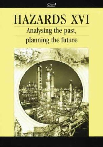 9780852954416: Hazards XVI: Analysing the Past, Planning the Future (Sympsium Series 148 With CD-Rom) - IChemE (Sympsium Series 148 With CD-Rom)