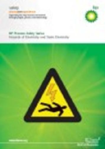 9780852955031: Hazards of Electricity and Static Electricity, 2nd edition (BP Process Safety Series) - IChemE