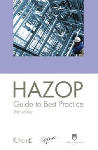 9780852955253: HAZOP: Guide to Best Practice, 2nd Edition - IChemE