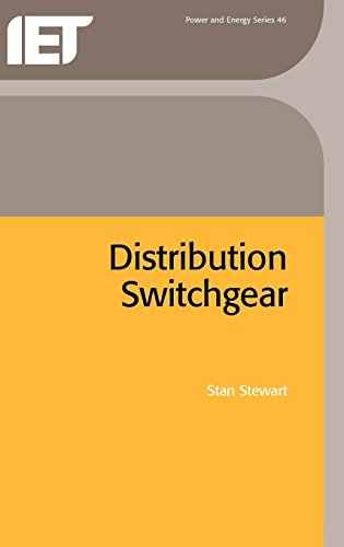 9780852961070: Distribution Switchgear (IEE Power & Energy Series)
