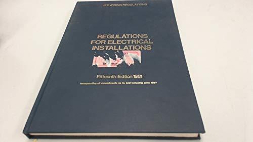 Peachy 9780852962350 Regulations For Electrical Installations 15Th Wiring Cloud Battdienstapotheekhoekschewaardnl