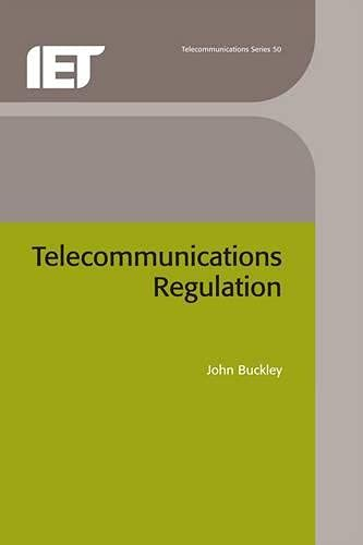 9780852964446: Telecommunications Regulation