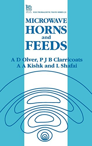 9780852968093: Microwave Horns and Feeds (Iee Electromagnetic Waves Series)