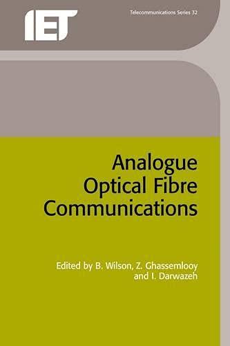9780852968321: Analogue Optical Fibre Communications (Telecommunications)
