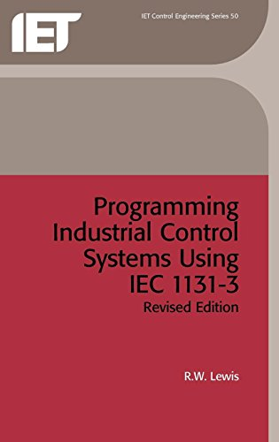 9780852969502: Programming Industrial Control Systems Using IEC 1131-3 (IEE Control Engineering)