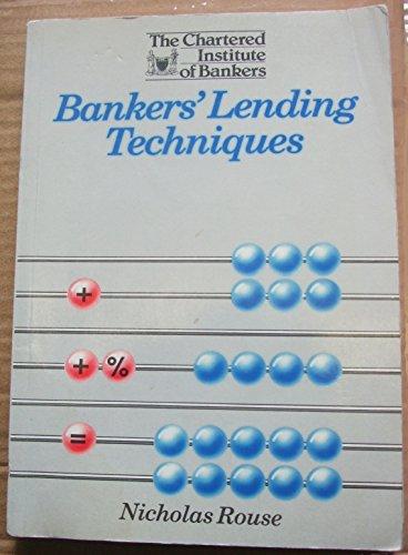 9780852972281: Bankers Lending Techniques