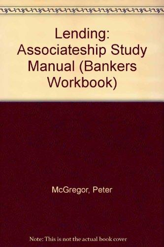 9780852974254: Lending (Bankers Workbook Series)