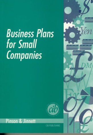 Business Plans for Small Companies (0852974841) by Linda Pinson; Jerry Jinnett