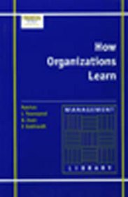 9780852975886: How Organizations Learn: Identify, Integrate and Institutionalize (Management Library): Identify, Integrate and Institutionalize (Management Library)