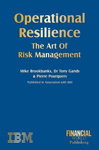 9780852976913: Operational Resilience: The Art of Risk Management
