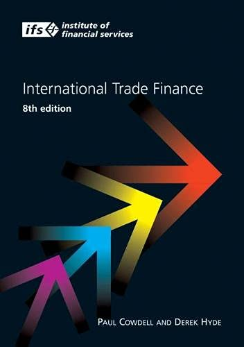 International Trade Finance: Cowdell, Paul, Hyde,