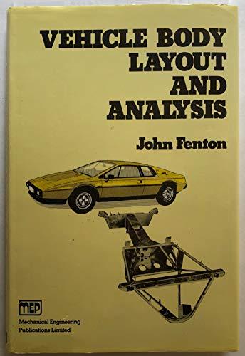 9780852984451: Vehicle Body Layout and Analysis