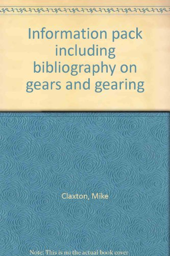 9780852986202: Information pack including bibliography on gears and gearing (Information pack)