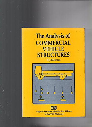 9780852987018: Analysis of Commercial Vehicle Structures
