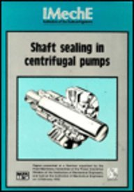 Shaft Sealing In Centrifugal Pumps Seminar Papers: American Society Of