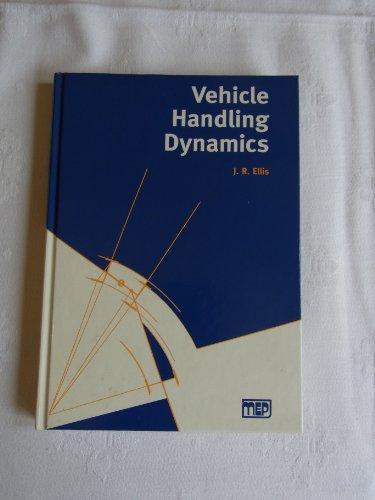9780852988855: Vehicle Handling Dynamics