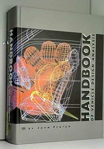9780852989630: Handbook of Vehicle Design Analysis