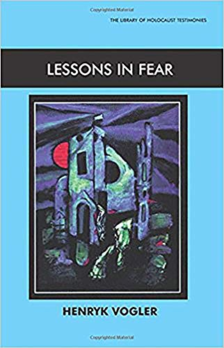 9780853034315: Lessons In Fear (Library of Holocaust Testimonies)