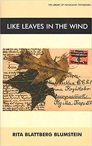 9780853034643: Like Leaves in the Wind (Library of Holocaust Testimonies)